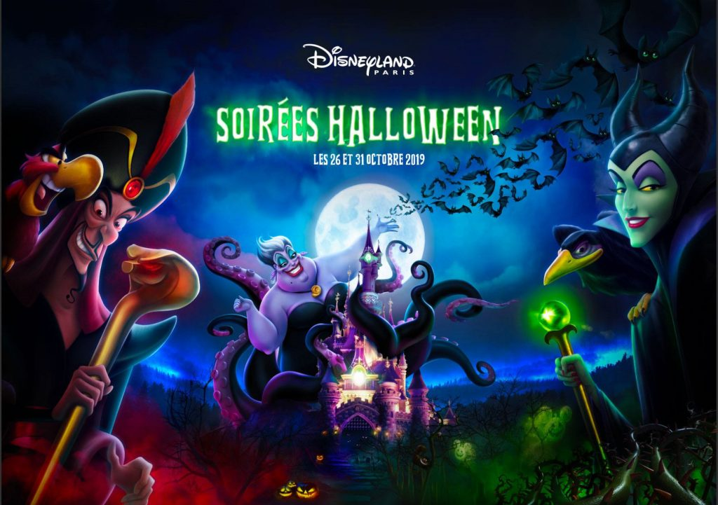 Halloween Soirées Line-up Disneyland Parijs 2019
