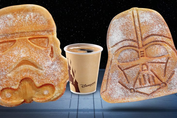 Nieuwe Star Wars wafels in Disneyland Paris