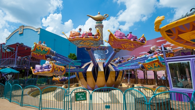 Les Tapis Volants – Flying Carpets Over Agrabah