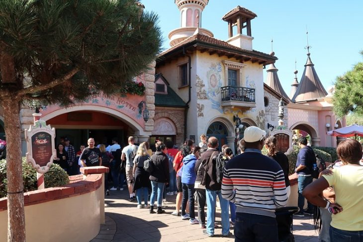 Veel Disneyland Paris restaurants gesloten in november