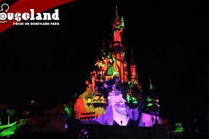 Illuminations Halloween pre-show at Disneyland Paris 2019