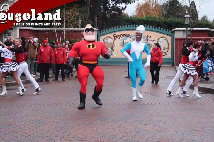 🎬 Video: Tuesday Guest Star with Mr Incredible & Frozone in Disneyland Paris 2019