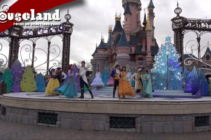 🎬 Video: Een sprookjesachtige wals met de Disney Prinsessen in Disneyland Paris 2019