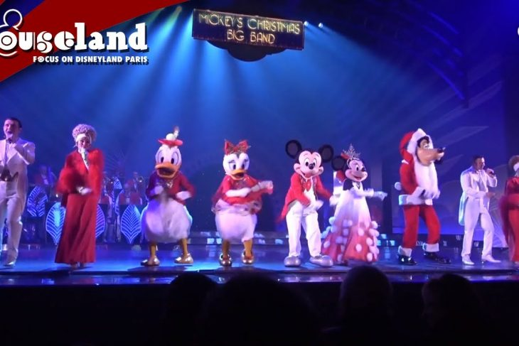 🎬 Video: Swing en tap mee met Mickey's Christmas Big Band in Disneyland Paris 2019